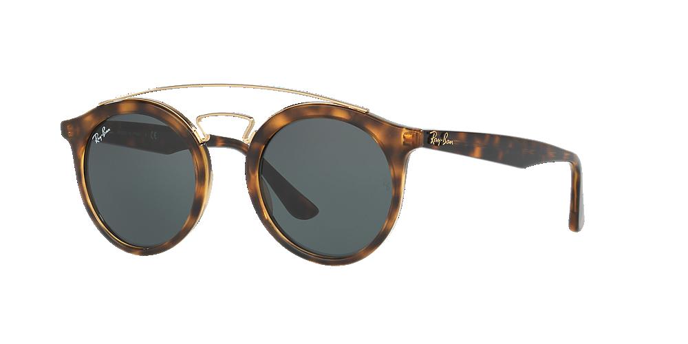0d9dc4626f53a Óculos de Sol Ray-Ban RB4256 Gatsby Redondo