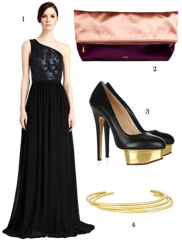 Great What To Wear To A Black Tie Wedding