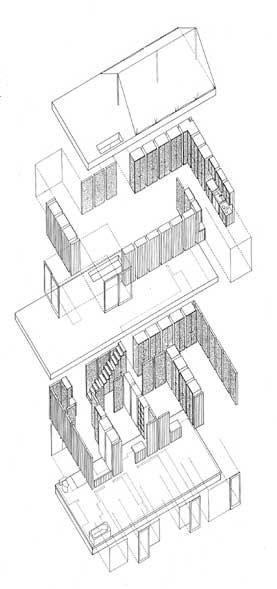 Great Shigeru Ban   FURNITURE HOUSE 2 (Kanagawa, 1996)