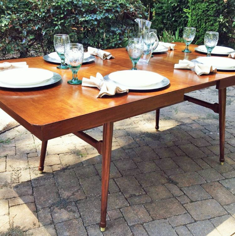 Candlelite Table Projects Midcentury Modern Dining