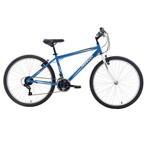 f18b1063120 Piranha 21 Speed Rigid MTB, 26 inch wheels, 18 inch frame, Men's Bike, Blue