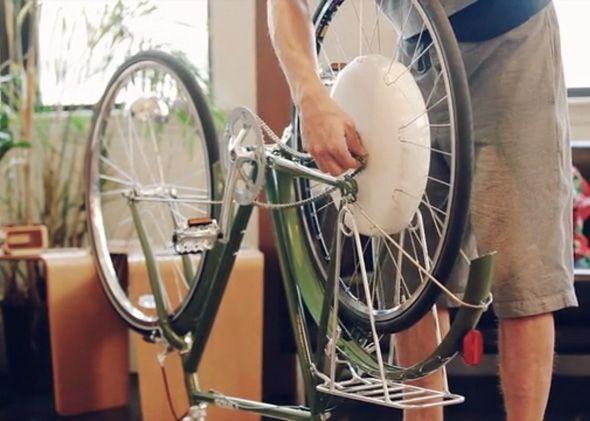 A Way To Bike To Work Without Getting Sweaty Electric Bike Wheel