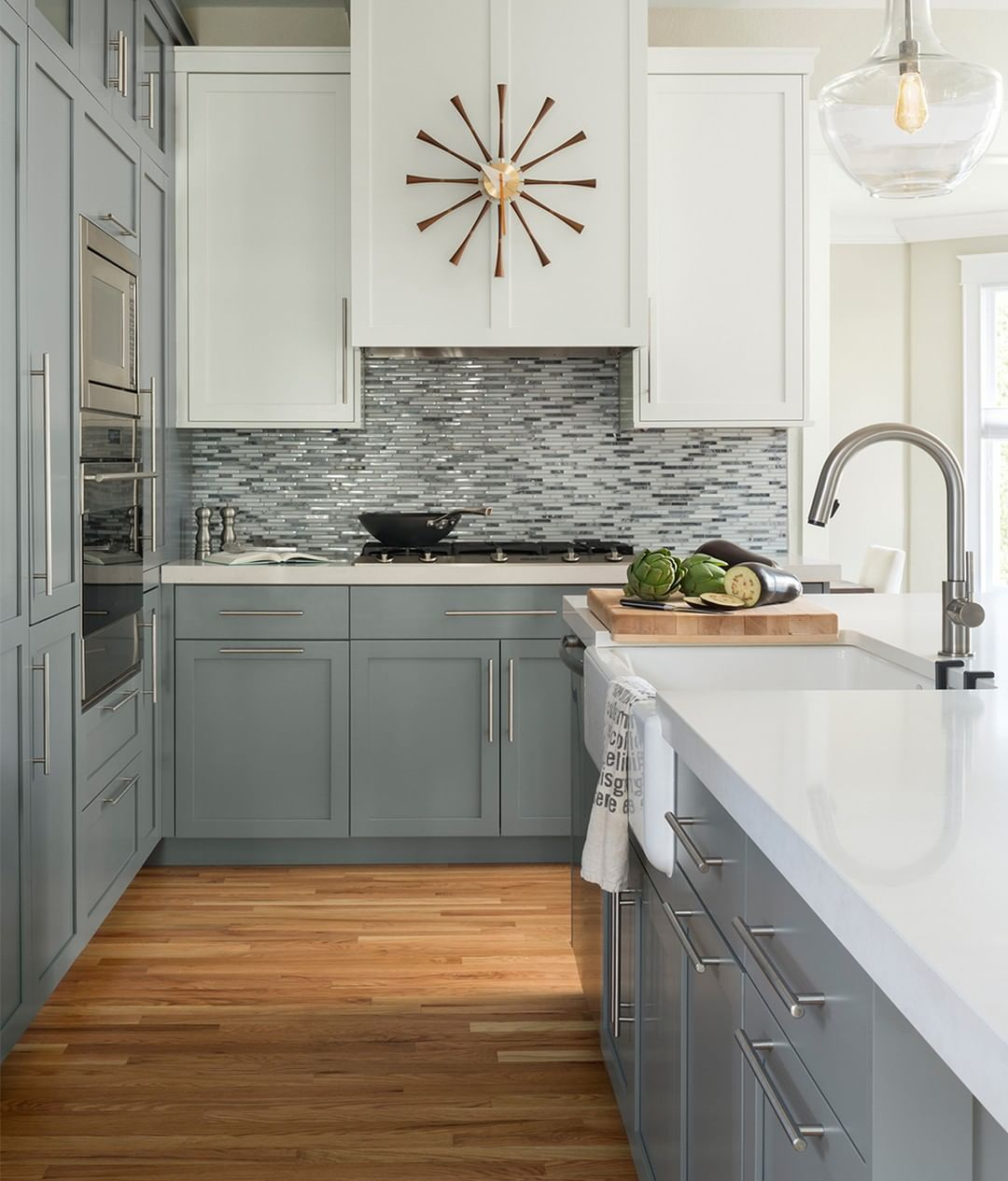 25 Absolutely Gorgeous Transitional Style Kitchen Ideas: Who Needs Coffee When You've Got A Beautiful Kitchen
