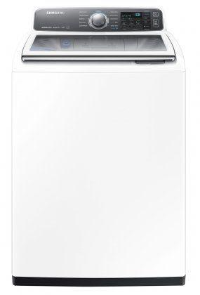 Samsung WA48J7700AW Activewash Washing Machine Review - Reviewed.com Laundry