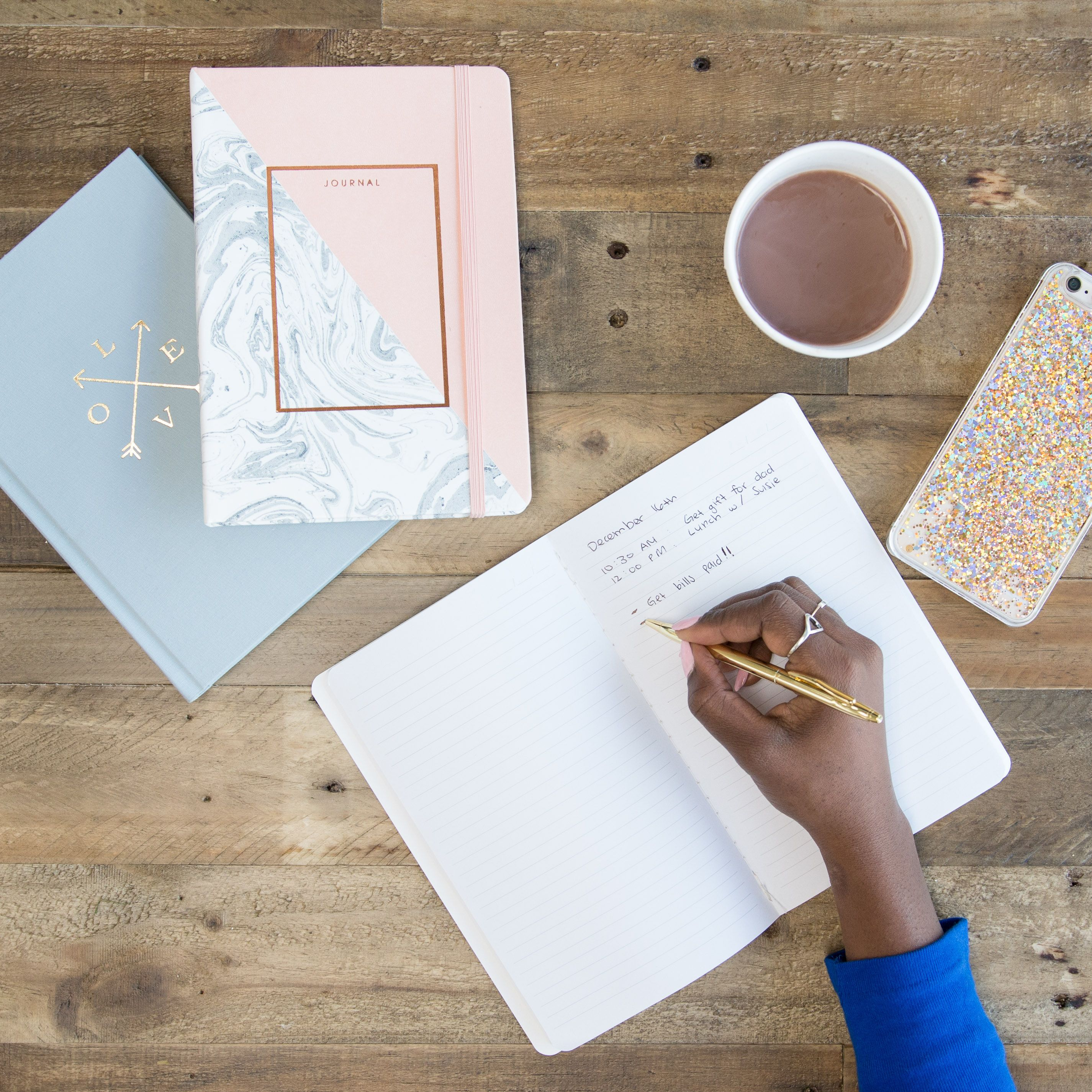 Chic notebooks perfect for notes, planning, and reminders. Starting at just $2!