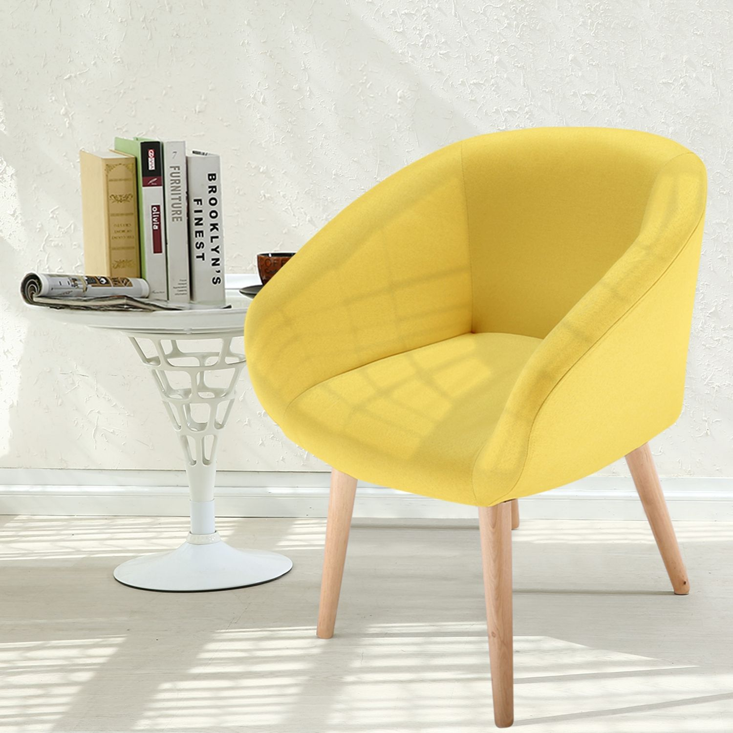 Chaise Fauteuil Style Scandinave Frost Jaune En 2020 Fauteuil Style Scandinave Chaise Fauteuil Chaise Style Scandinave