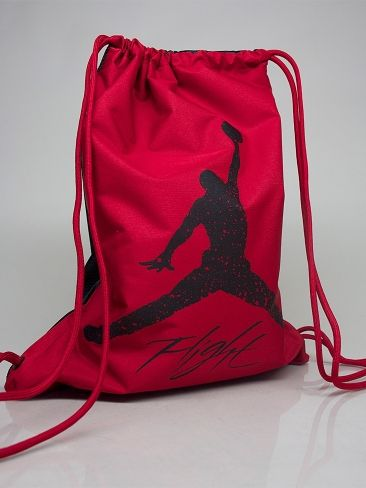 san francisco 439f8 1df4e NIKE JORDAN 546467 695 JORDAN DOMINATE GYM SACK Drawstring Bag - red -  black € 20