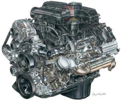 5.7 liter Hemi V8 engine cutaway   Hemi engine, Jeep grand ...