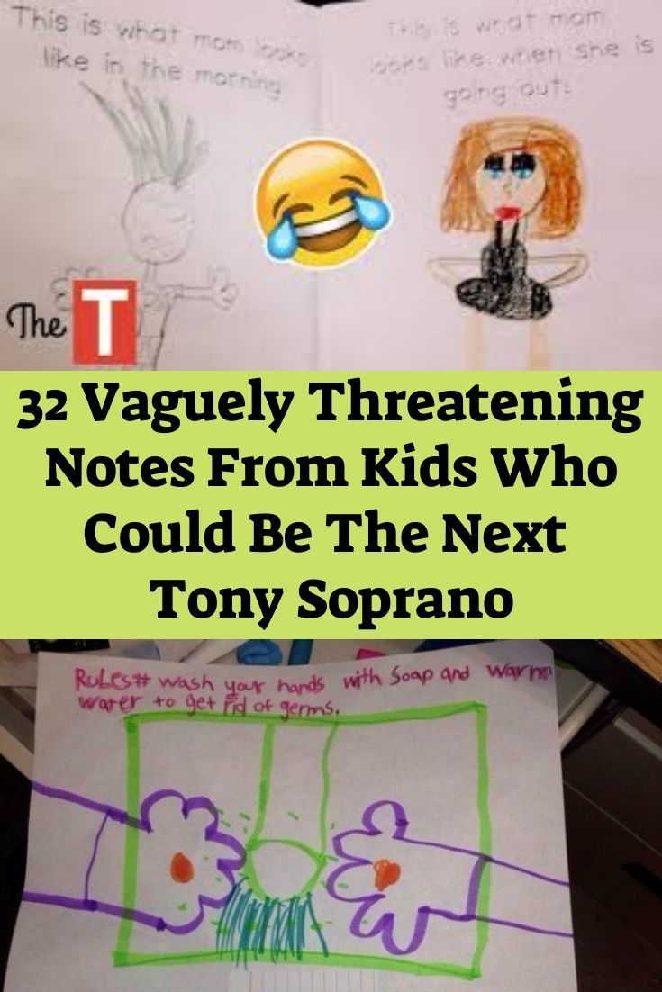 32 Vaguely Threatening Notes From Kids Who Could Be The Next Tony Soprano #toothfairyideas