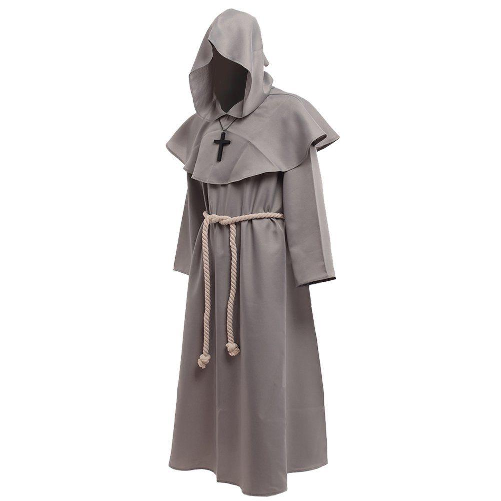 HALLOWEEN FANCY DRESS # HOODED CLOAK WEB KING MED