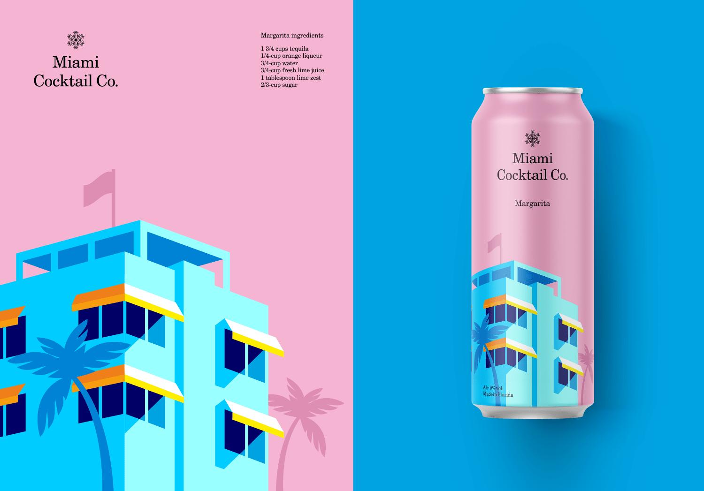 Https Www Behance Net Gallery 65760667 Miami Cocktail Co Web Design Tips Creative Web Design Creative Packaging Design