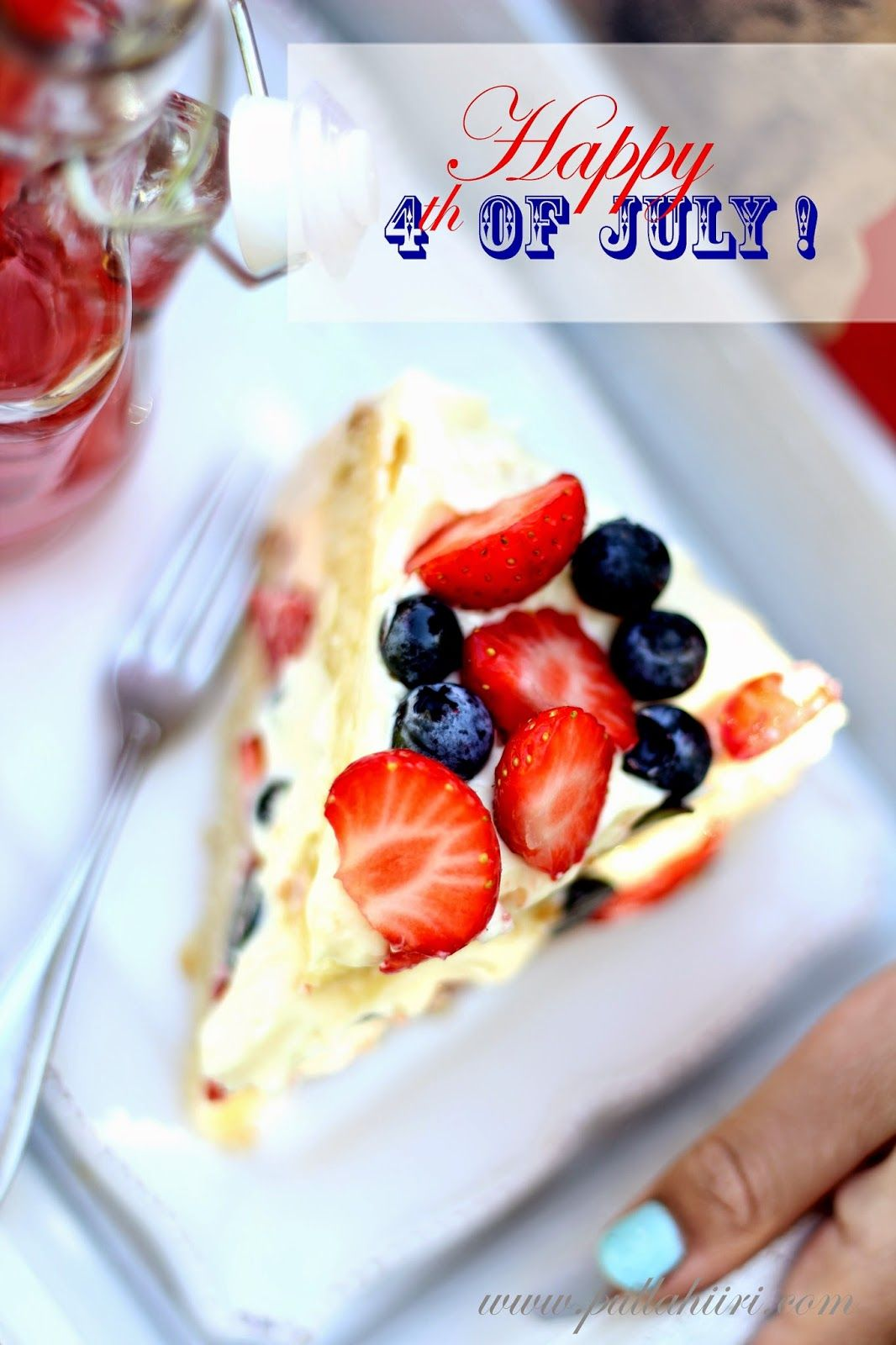 Pullahiiren leivontanurkka: Happy 4th of july - bacca meraviglioso e torta di cioccolato bianco  Happy 4th of july - Ihana marja-valkosuklaakakku