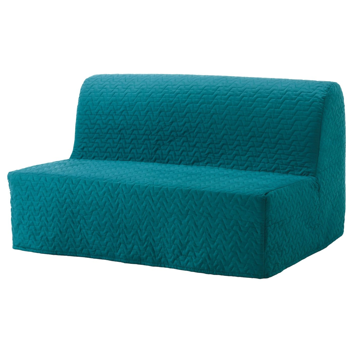 Lycksele Lovas Sovesofa 2 Vallarum Turkis Ikea In 2020 Lycksele Sleeper Sofa Ikea Sofa Bed
