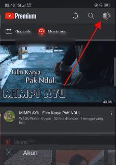 berhenti langganan youtube premium