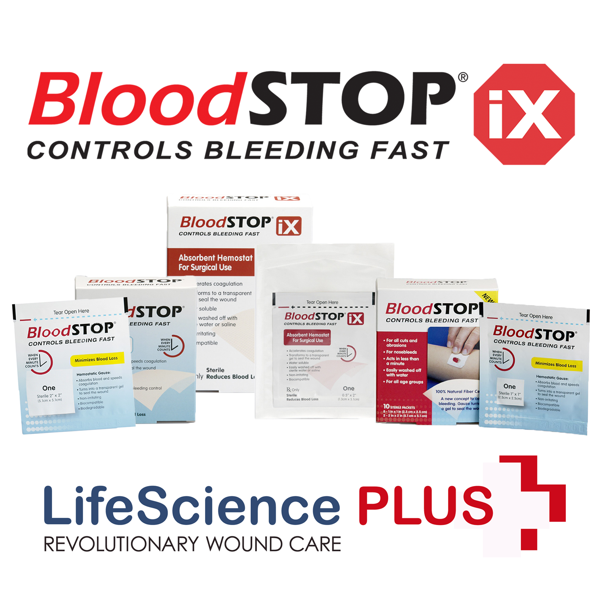 BloodSTOP Product Family | BloodSTOP | Class of 2018