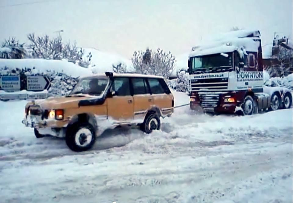 The mighty Range Rover Classic!