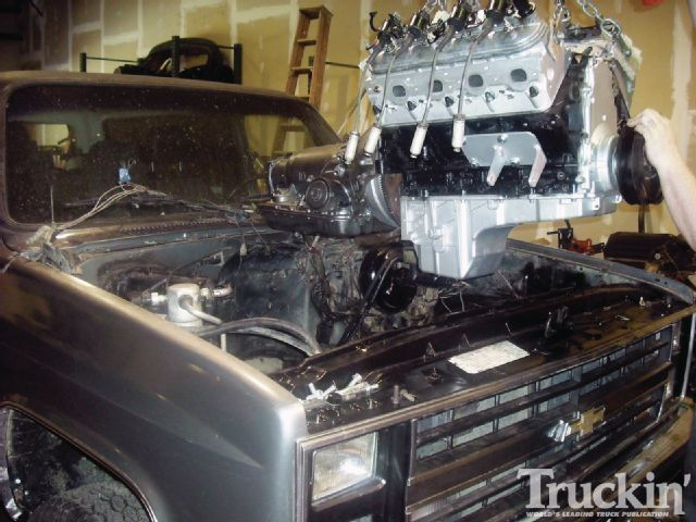1982 Chevy K5 Blazer Ls Engine Swap Engine Install | Autos