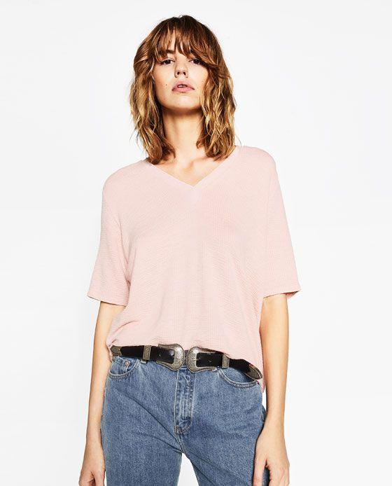 Image 2 of JACQUARD T-SHIRT from Zara