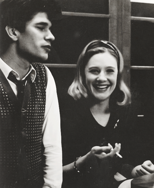 Ben Whishaw and Romola Garai in   The Hour              (via TumbleOn)
