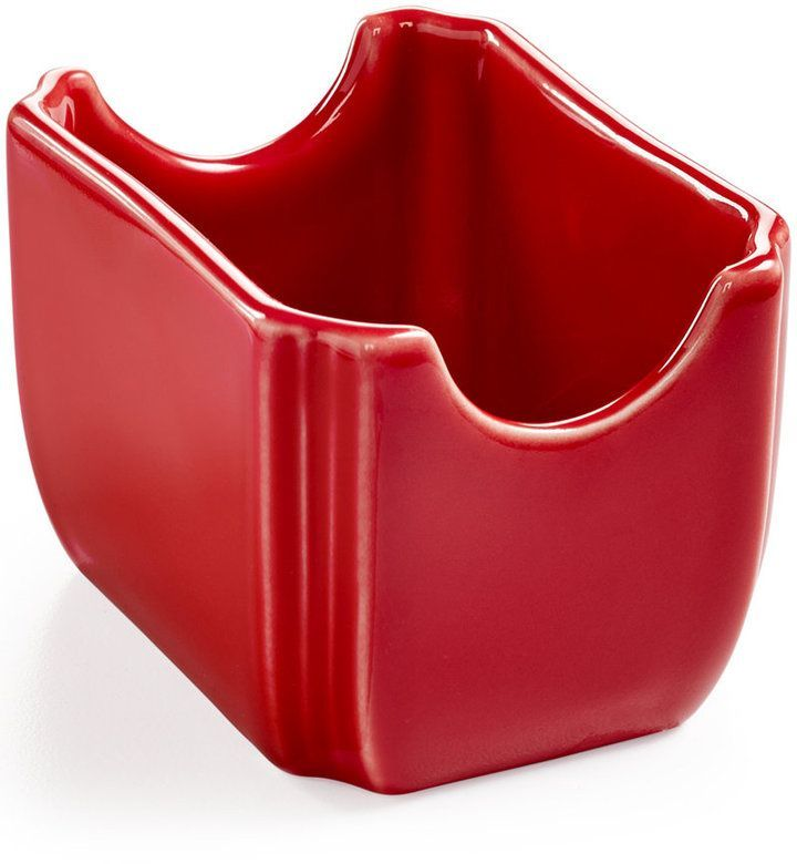 FIESTA SUGAR PACKET HOLDER CADDY scarlet red NEW