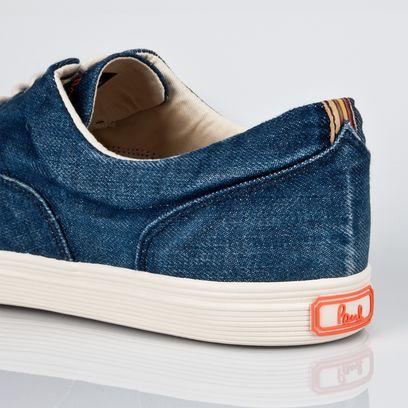 Paul Smith Shoes - Light Denim Thorpe Trainer - sfxg-h089-bden-bg-detailc