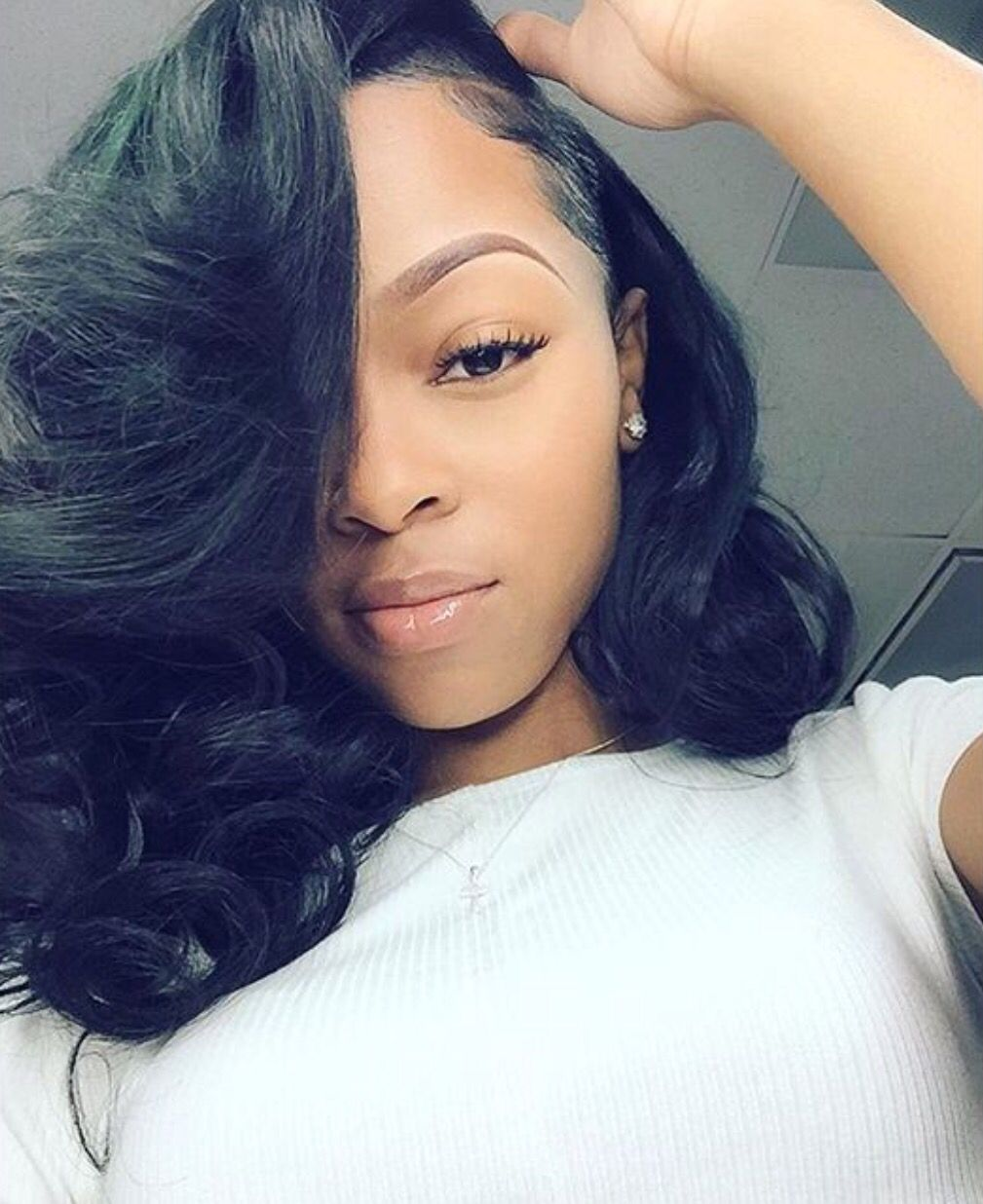 Follow Kashyydoll For More If You Want To See More Pics Like This Follow Suprememorgan Wig Hairstyles Natural Hair Styles Weave Hairstyles