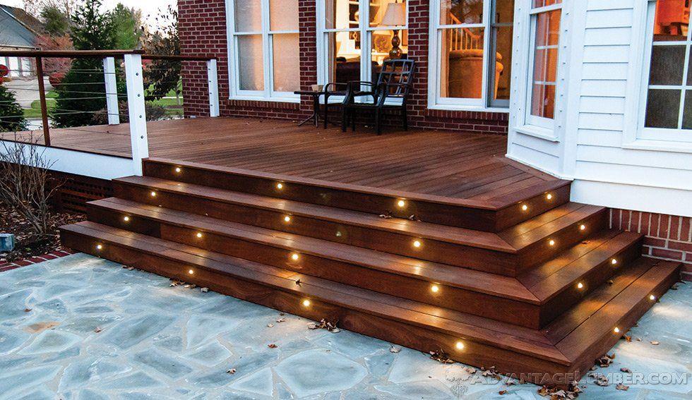 Advantage Deck Lighting   LED, Post Caps, U0026 Rail Lights