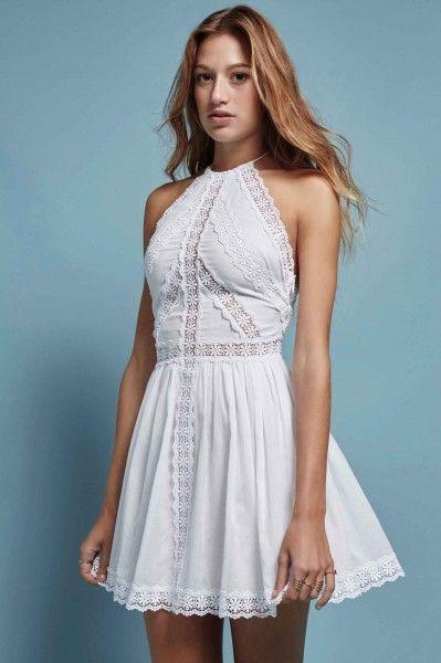e4a08f4f15 MUJER   CHARO RUIZ IBIZA. Moda adlib de Vestido blanco estilo ibiza ...