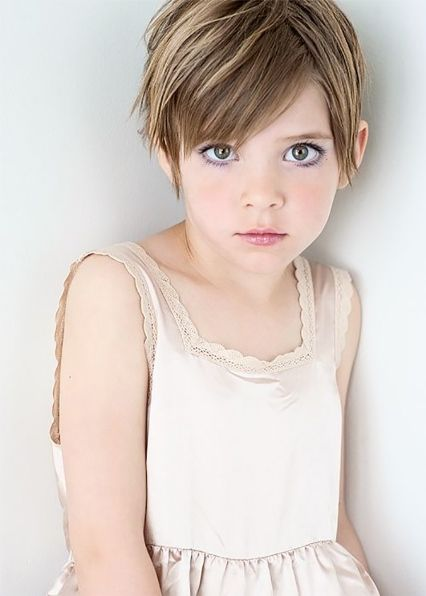 Pleasant Pixie Cuts For Kids Short Hairstyles For Little Girls Love These Hairstyles For Women Draintrainus