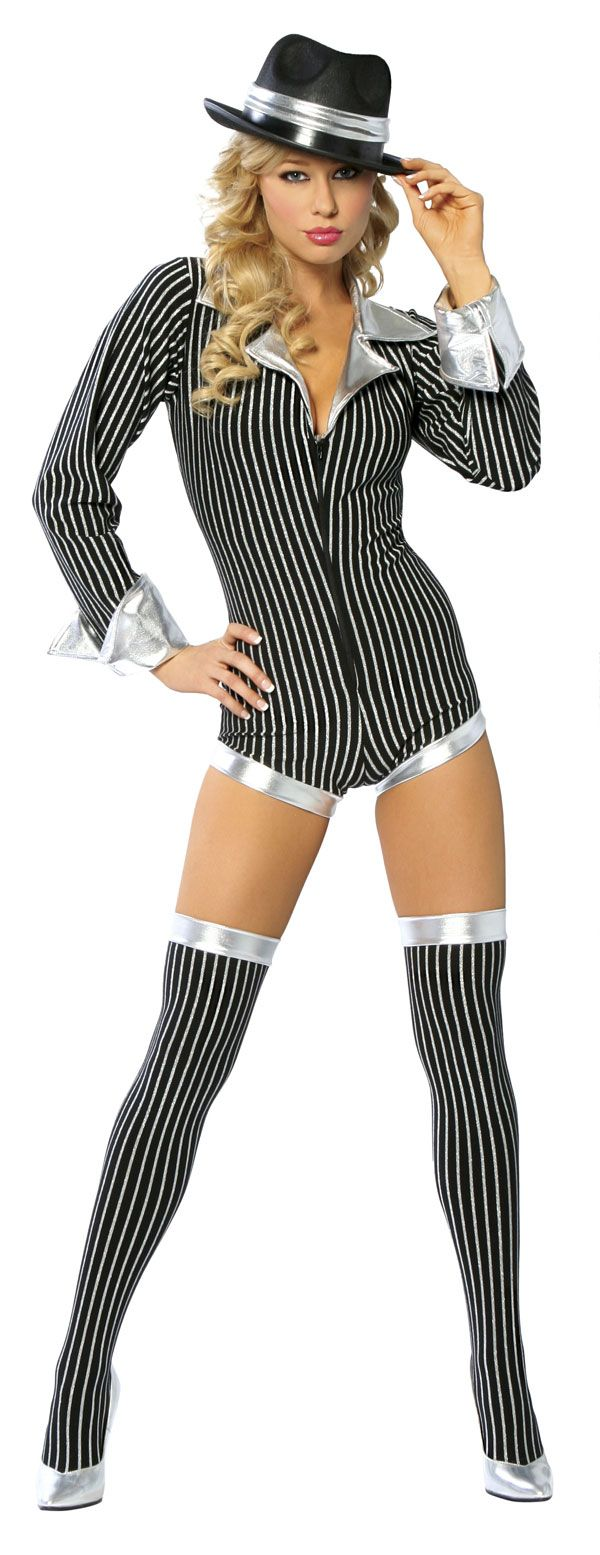 sexy gangster costume men sexy silver gangster costume - Halloween Mobster Costumes