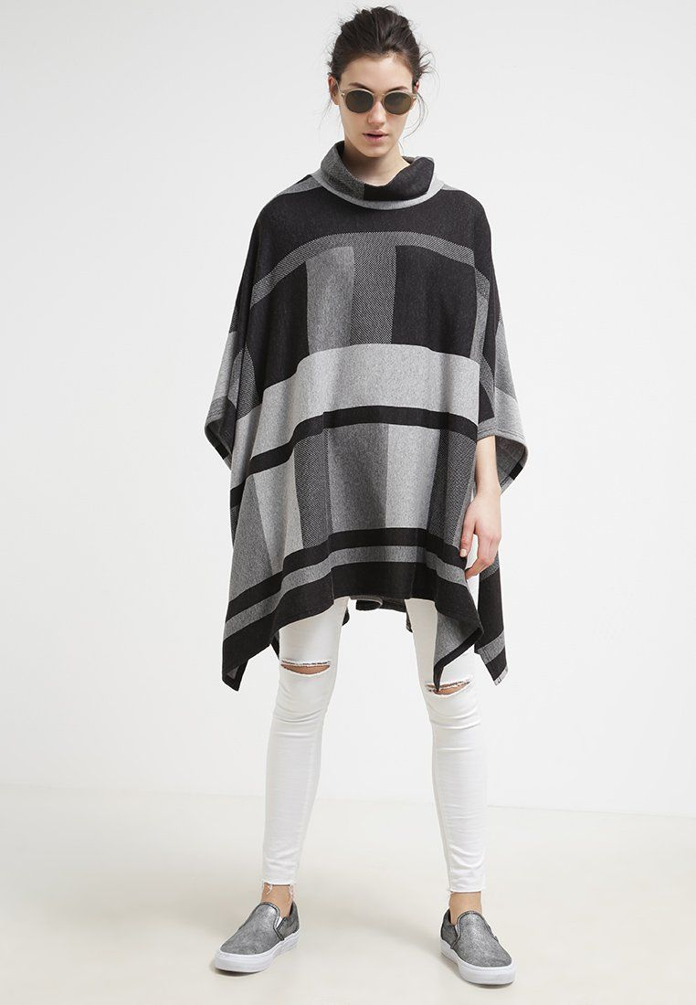 ONLY ONLKERRY - Cape - dark grey melange - Zalando.at