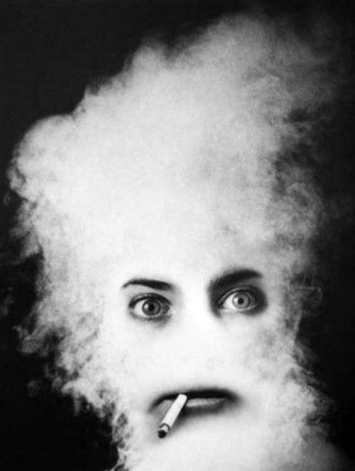 Cigarette Smoker, 1964.    Photo by Alfred Gescheidt
