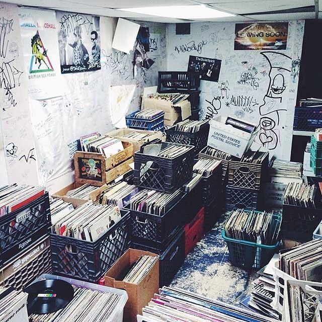 """Word. """"Good music doesn't have an expiration date."""" - @ohmsweetohm  Double tap if you agree and tag a friend that collects vinyl."""