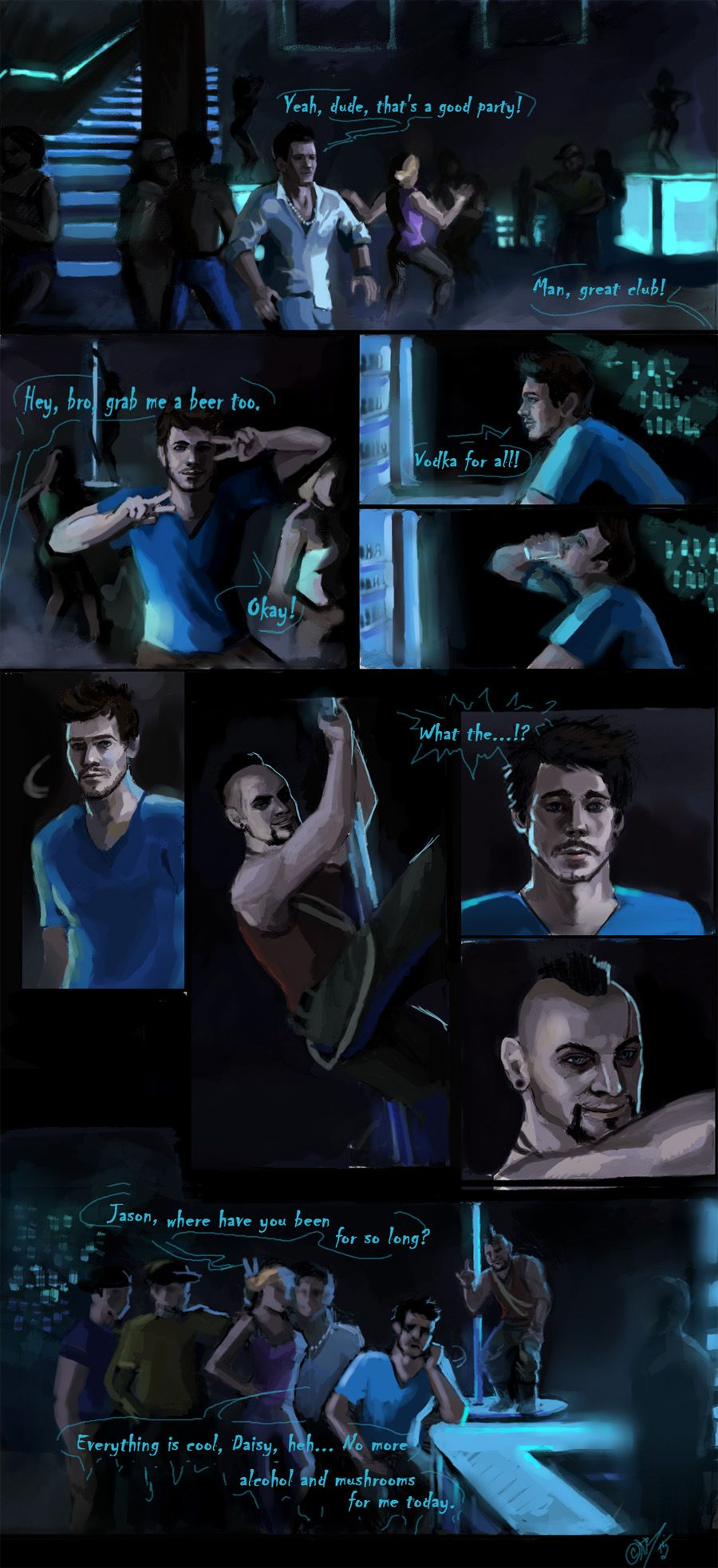 Adventures Of Jason Brody And Vaas Montenegro From Far Cry 3 I