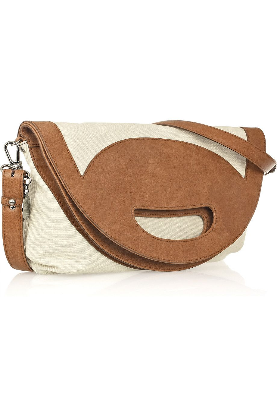 Not sure why this Stella McCartney bag is $1125 when it's made of faux leather, but it's adorable.