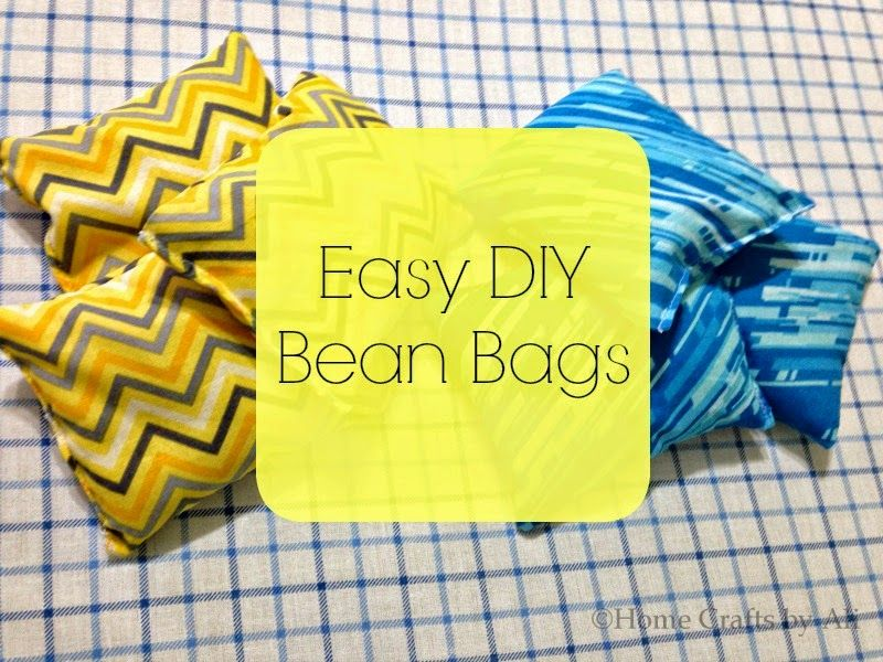 Easy DIY Bean Bags