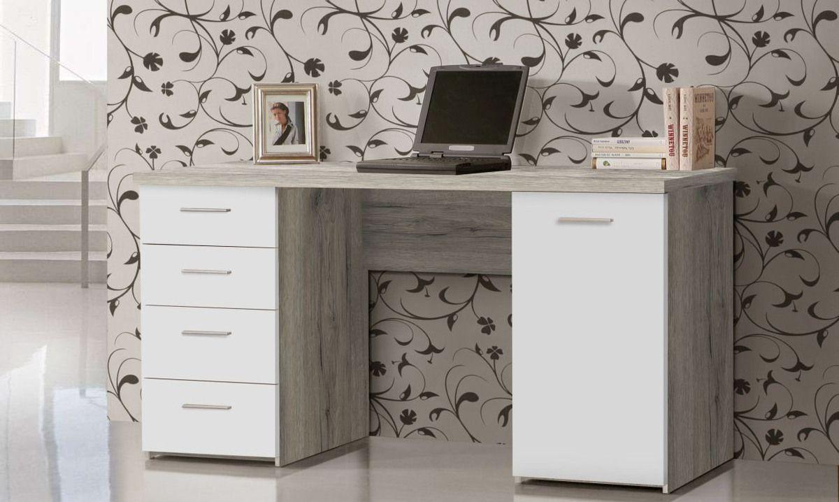 Wohnzimmertisch sandeiche ~ Schreibtisch net u u ca cm sandeiche front weiß büro