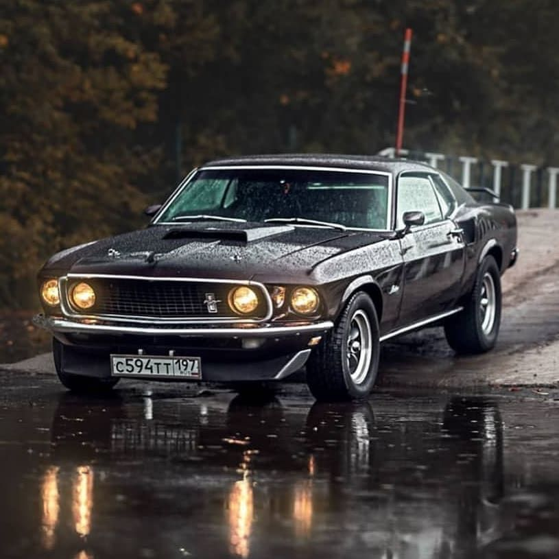"""Old Mustangs 24h/7days on Instagram: """"Mustang Fastback 1969  @mik_sharov  _ #vehicle #classics #vehicles #instacars #car #americanmuscle #cars #horsepower #musclecar #classic…"""""""