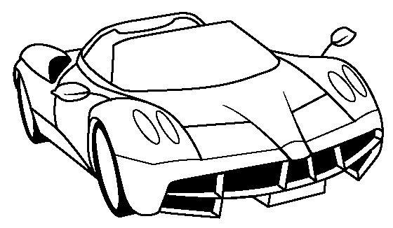 Ferrari Huayra Coloring Page - Ferrari car coloring pages Ferrari - best of coloring pages of a sports car