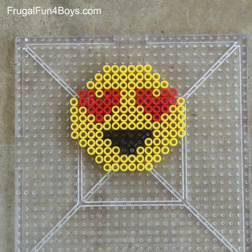 Emoji Perler Bead Patterns Custom Ideas