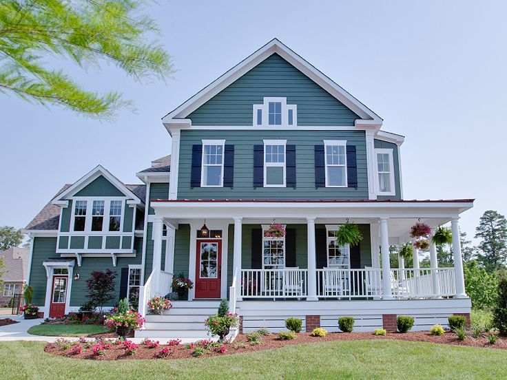 Pin By Remodelaholic On Home Exteriors Farmhouse Plans House Styles House Exterior