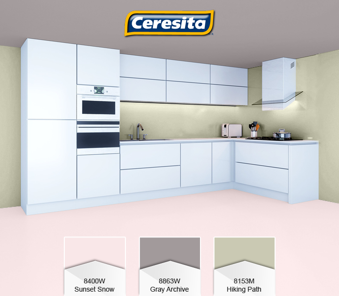 CeresitaCL #PinturasCeresita #color #comedor #pintura #decoración ...