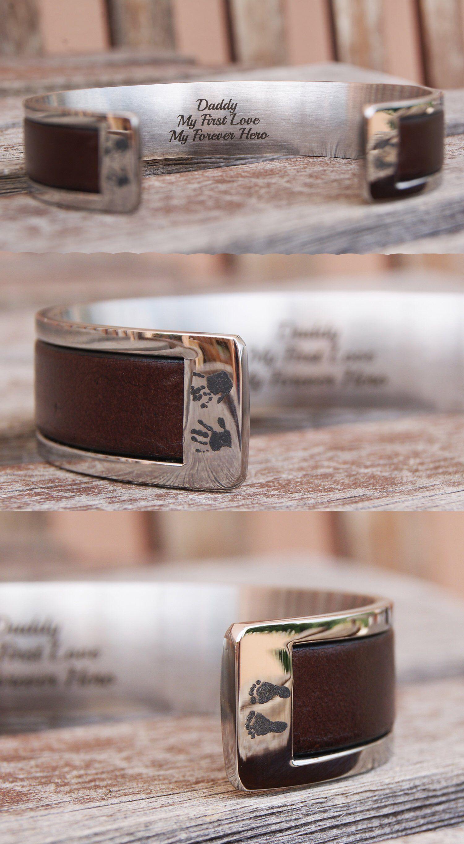 8b0c9ba0ccdb9 Father's Day Gift Mens Bracelet Custom Dad Gift Mens Gift ...
