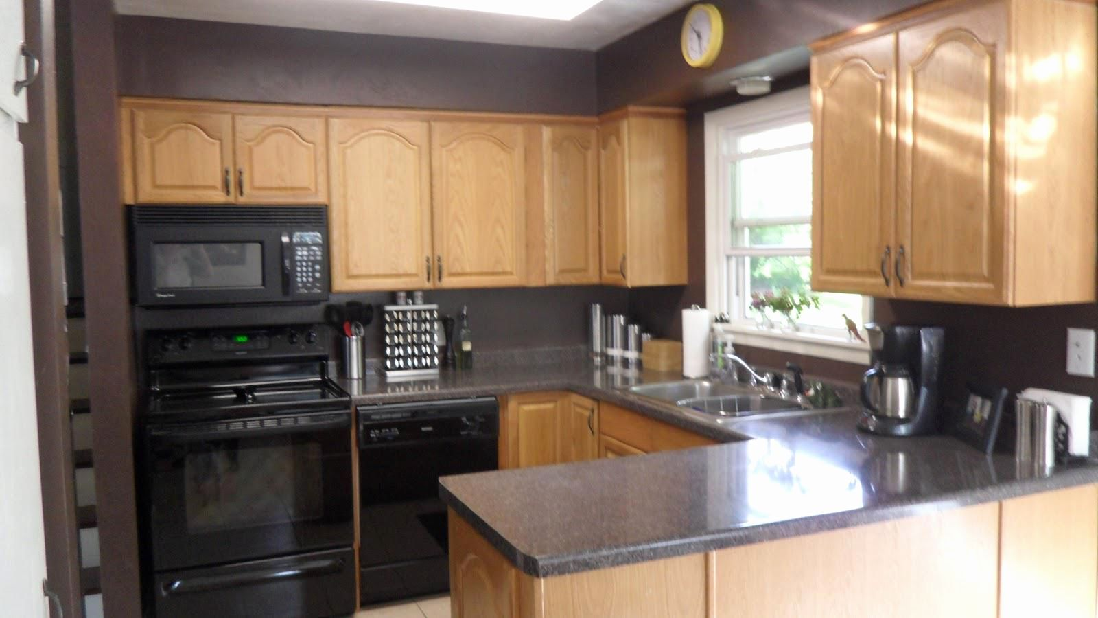Decorating Yellow Kitchen Walls With Oak Cabinets Unique Furniture Breathtaking And Gray Excellent Grey Of