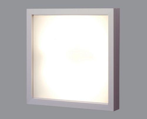 Leuchtstoff-Wandleuchte / quadratisch LINAR-IMAGE Lichtwerk