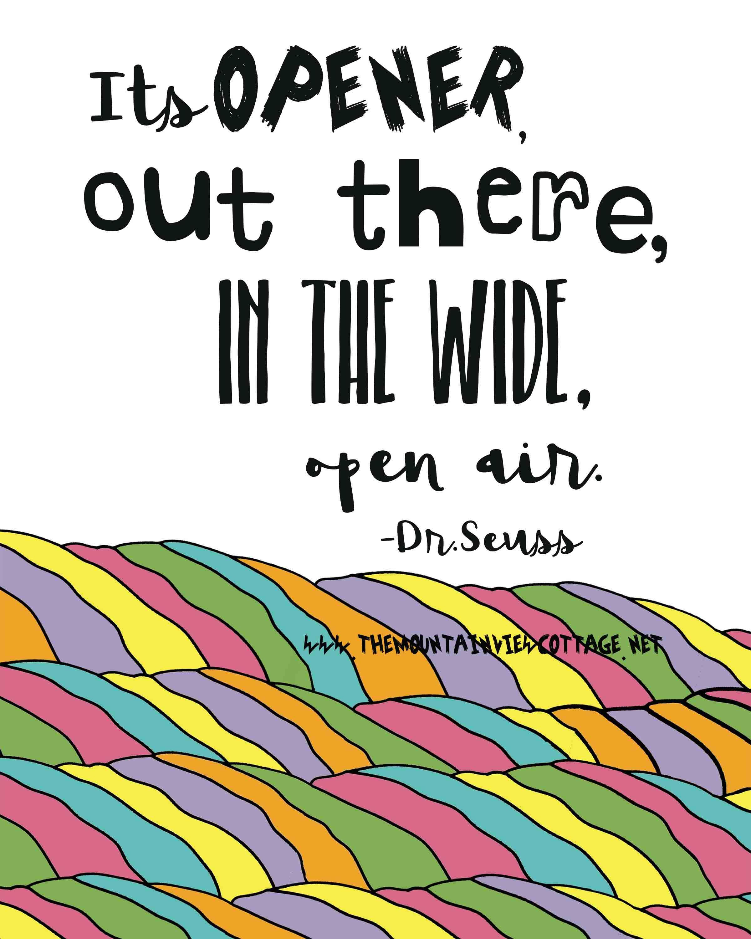 21 Incredible Dr.Seuss Quotes Cute quotes for kids