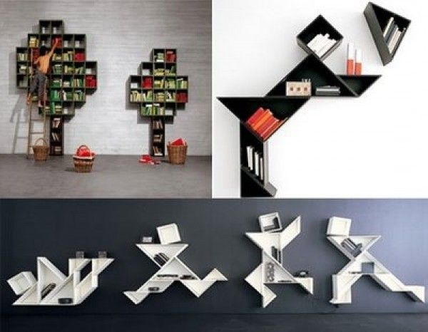 Modern Bookshelf Design modern bookshelf design model | book shelves | pinterest