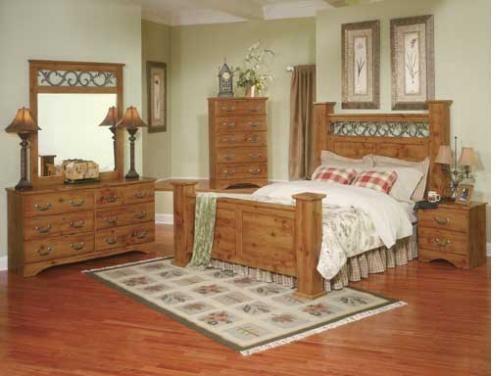 Pine King Bedroom Set   Bedroom Decorate Area: Pine Bedroom Sets