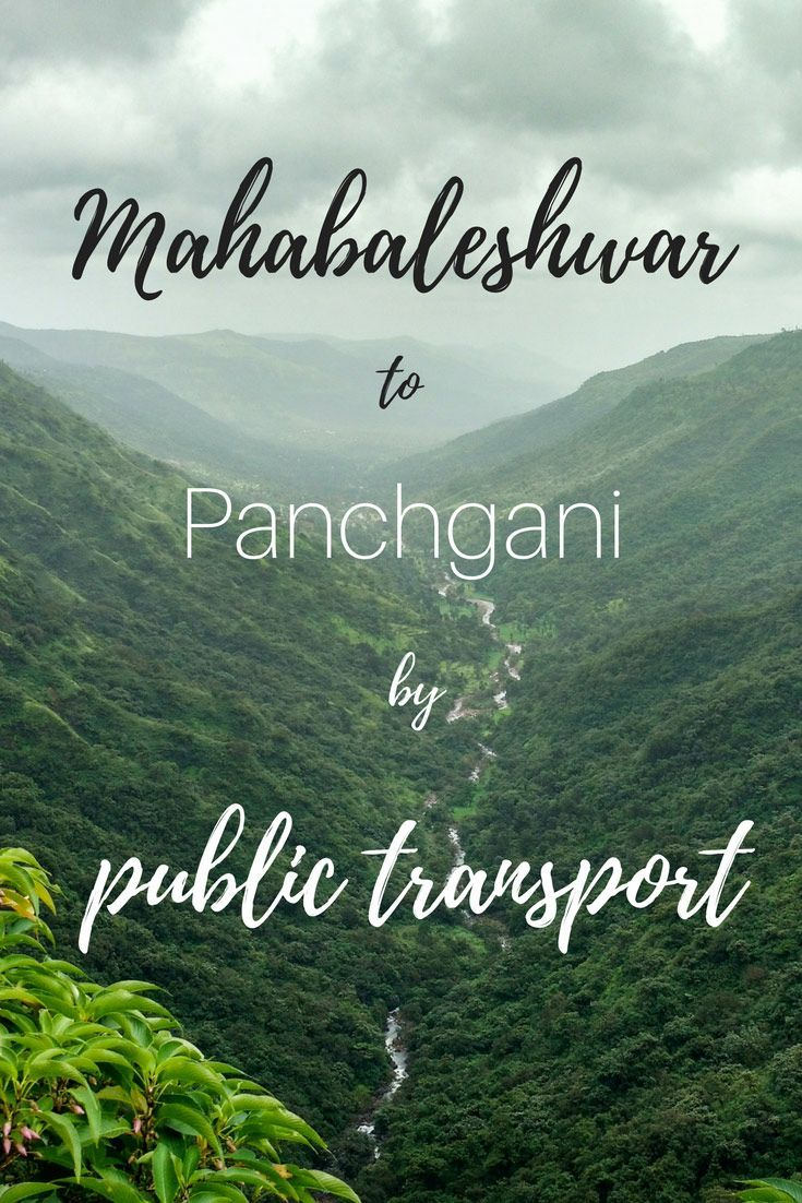 Places near Mahabaleshwar by bus what to visit or to
