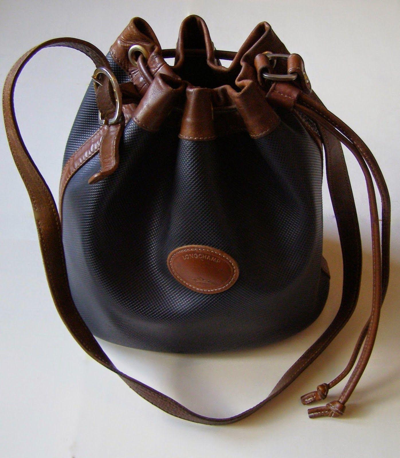 01ffc9c1a6 sac seau vintage LONGCHAMP | Collection Longchamp | Bucket Bag, Bags ...